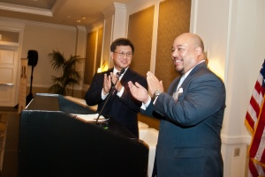 CA State Controller John Chiang and APALF Founder Ron Wong